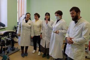 Детские хирурги посетили реабилитационный центр ГБ №40