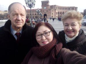 Ведущие преподаватели института провели обучение в Армении